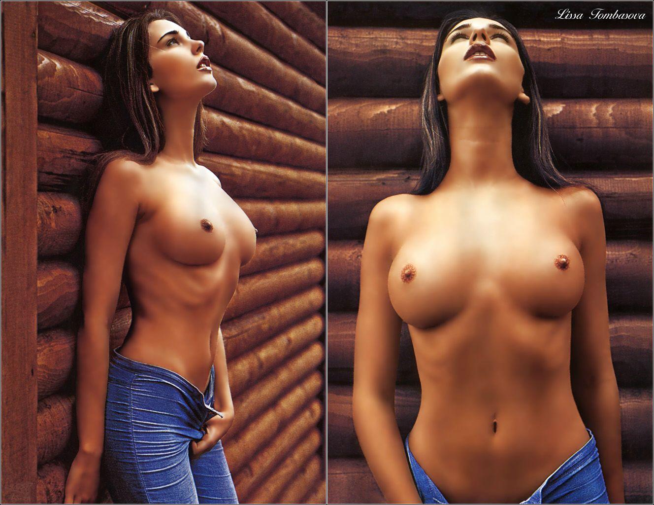 грудь женская голая 2 размер